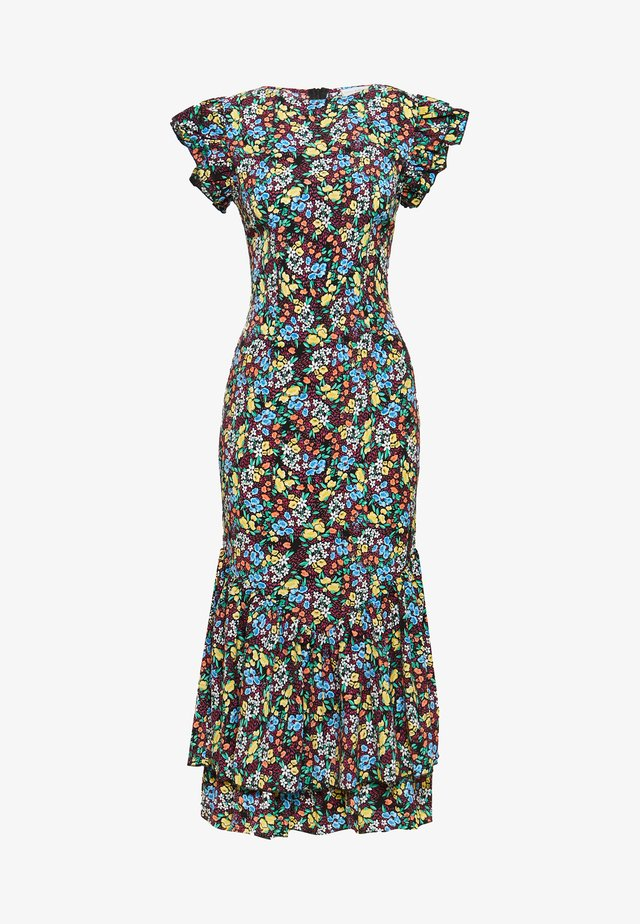 FRIDA FLORAL DRESS - Korte jurk - multi