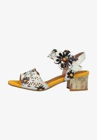 LAURA VITA - Sandals - blanc - 0