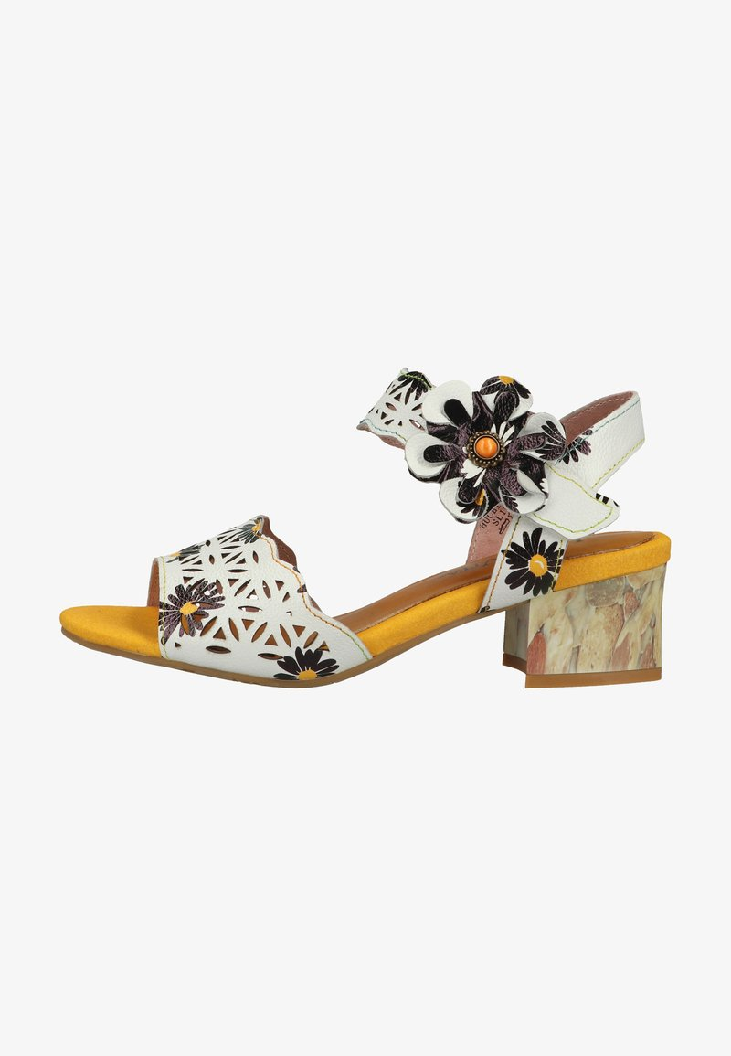 LAURA VITA - Sandals - blanc