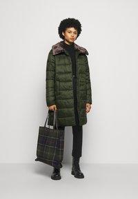 Barbour - TEASEL QUILT - Classic coat - sage - 1
