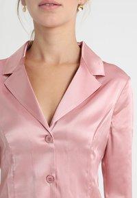 La Perla - LONG PAJAMAS SHORT VERSION SET - Pyjama set - pink powder - 5