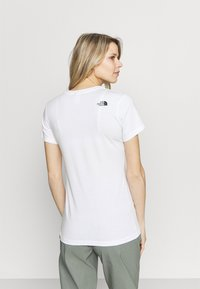 The North Face - SIMPLE DOME TEE - T-shirts - white - 2