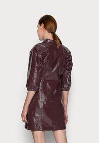 Glamorous Tall - LADIES DRESS  - Shirt dress - burgundy - 2