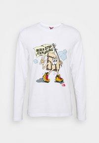The North Face - GRAPHIC  - Camiseta de manga larga - white - 3