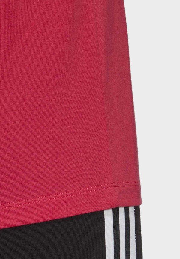 adidas Originals TREFOIL T-SHIRT - T-shirt z nadrukiem - pink Odzież Damska NJPR YN 1