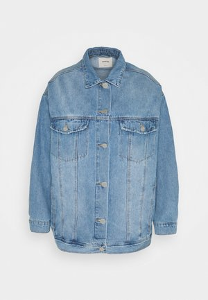 OVERSIZED EX BOYFRIEND JACKET  - Short coat - blue vintage/bleach