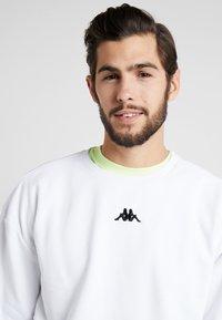 Kappa - VESLANN - Sweatshirt - bright white - 3