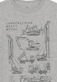 GAP - BOY  - T-shirt print - light heather grey - 3