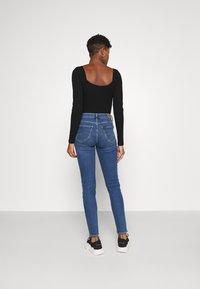 Lee - SCARLETT HIGH - Jeans Skinny Fit - mid worn martha - 2