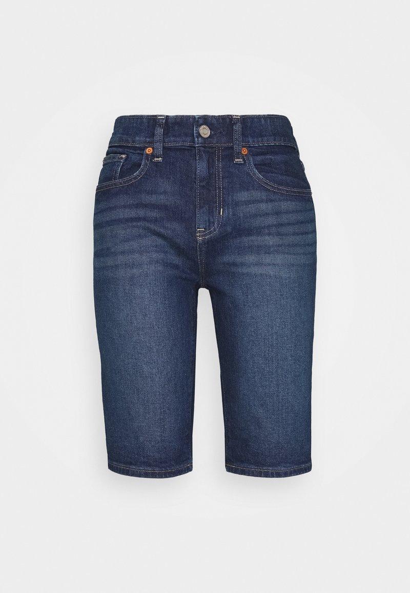 GAP - BERMUDA PENINSULA  - Denim shorts - dark indigo