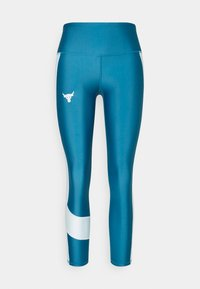 Under Armour - PROJECT ROCK ANKLE CROP - Tights - acadia - 4