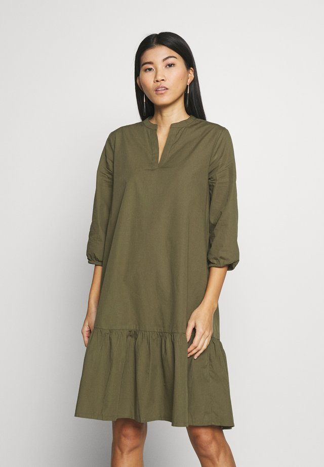 UZMA DRESS - Day dress - army green