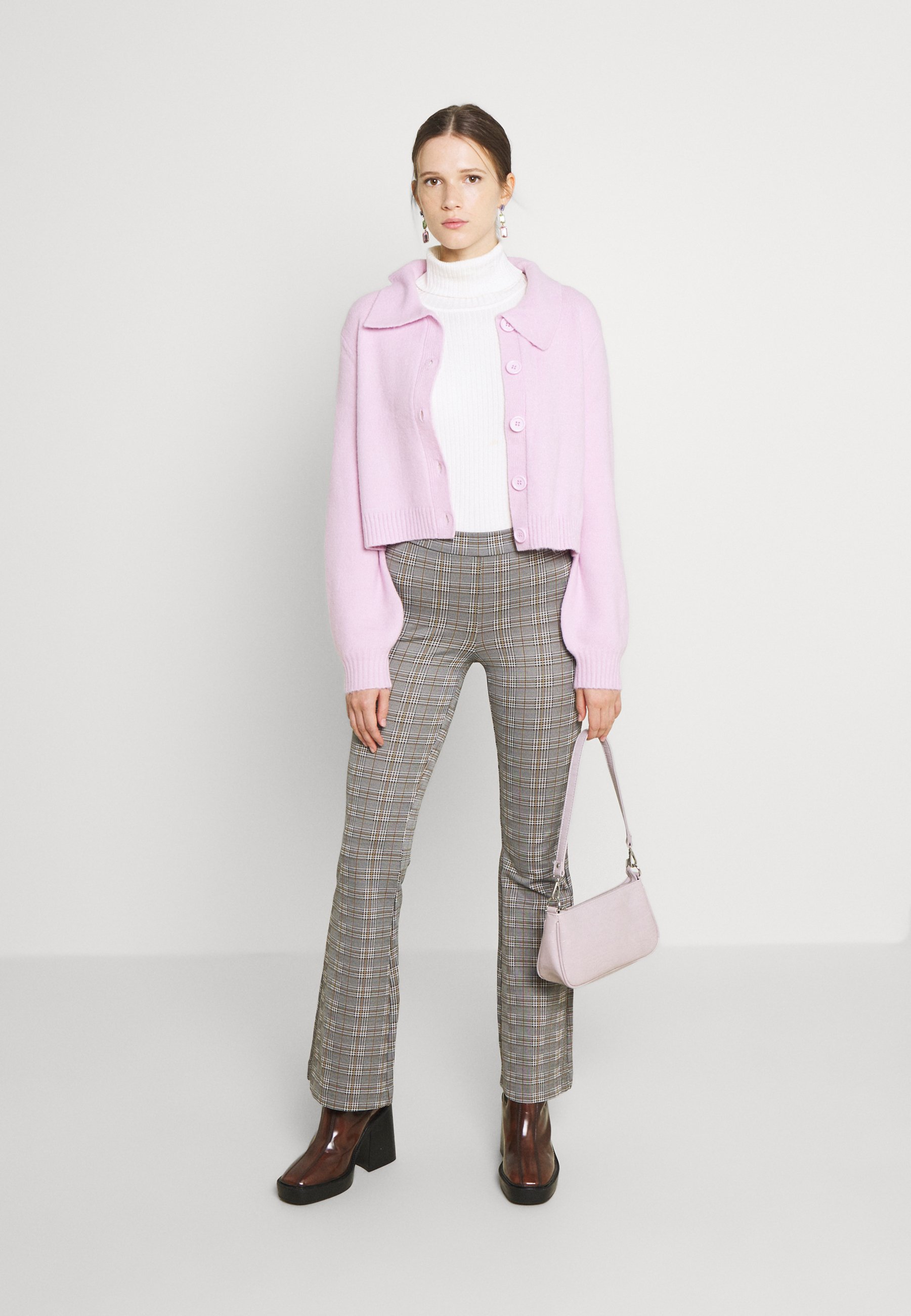 Donna COLLARED BOXY FIT - Cardigan