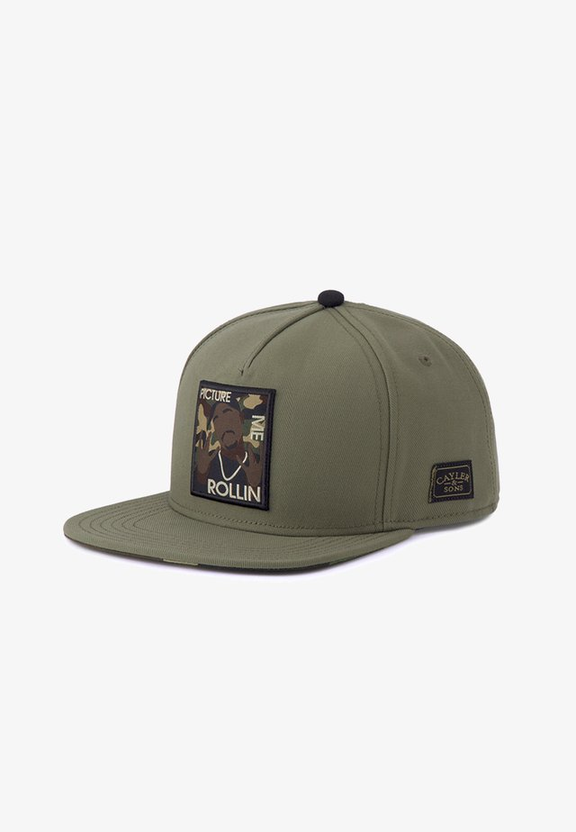 ROLLIN  - Cappellino - olive/woodland