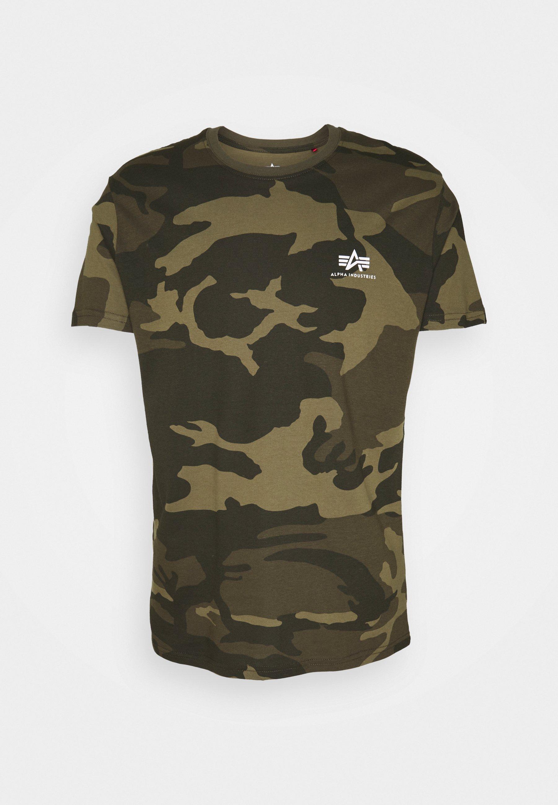 Men CAMO - Print T-shirt