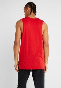 Nike Performance - TANK DRY - Sports shirt - university red/black - 2