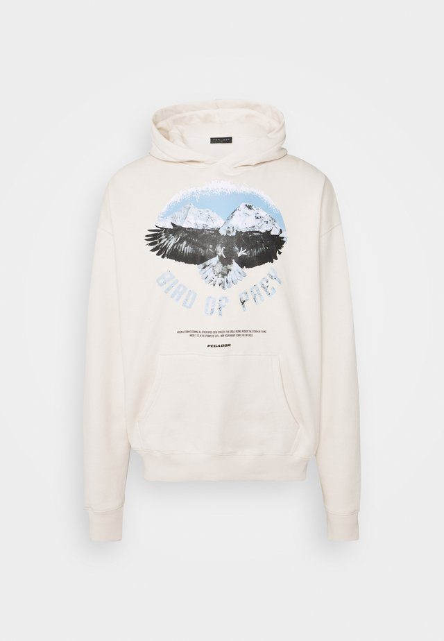 EAGLE OVERSIZED HOODIE UNISEX - Sweater - coconut milk