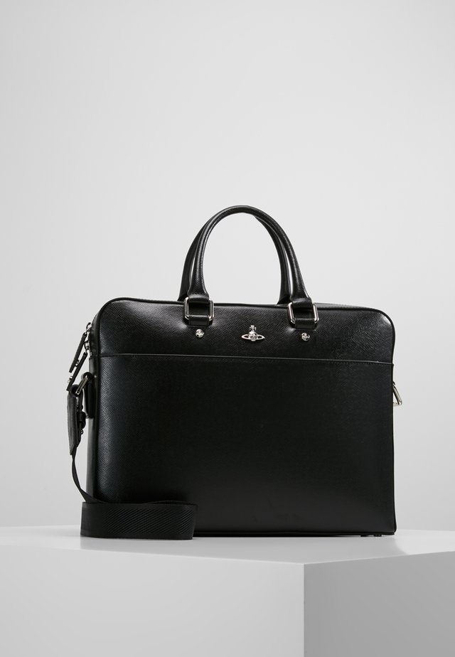 KENT DOCUMENT CASE - Salkku - black