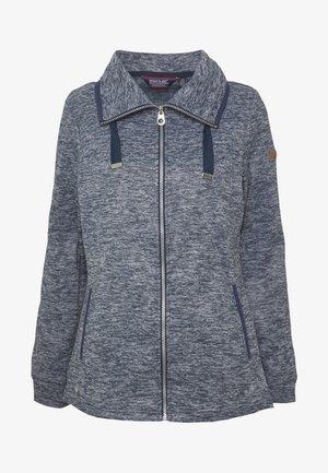 EVANNA - Fleece jacket - navy