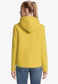 Amber & June - Sweater met rits - lemon curry - 2