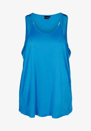 MIT MESH - Top - daphne blue