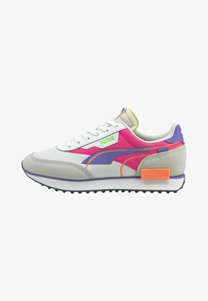 FUTURE RIDER TWOFOLD UNISEX - Sneakers laag - puma white luminous purple