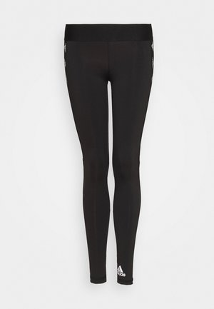 Tights - black/white