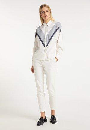 Skjorter - weiß grau marine