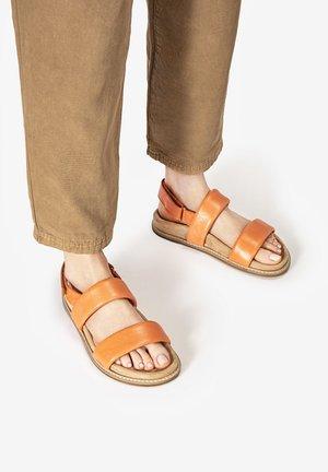 Sandals - sunburn sub