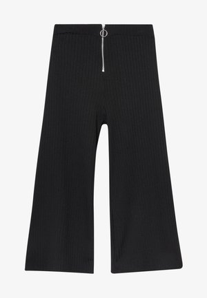 RING PULL CARLY CULOTTE - Trousers - black