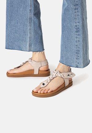 T-bar sandals - nb grey ugr