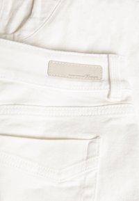 TOM TAILOR DENIM - CAJSA - Denim shorts - white denim - 2