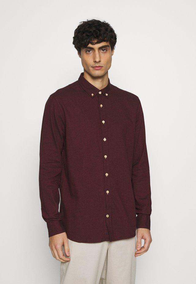 JOHAN DIEGO - Shirt - bordeaux
