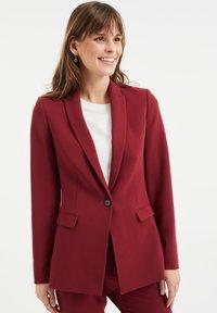 WE Fashion - Blazer - vintage red - 0