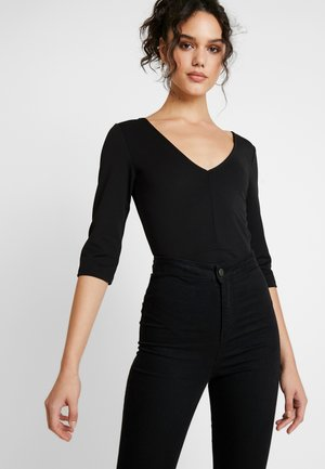 BODYSUIT - Topper langermet - black