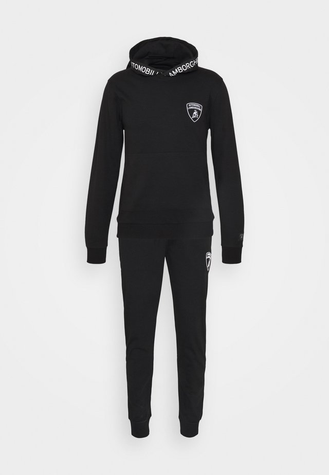 TRACKSUIT SET - Sweat à capuche - nero