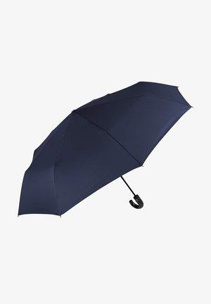 UMBRELLA WITH CURVED HANDLE - Umbrella - blu navy