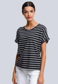 Alba Moda - Print T-shirt - schwarz,off-white - 0