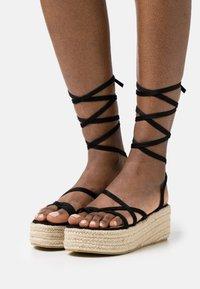 BEBO - LINDSEY - T-bar sandals - black - 0
