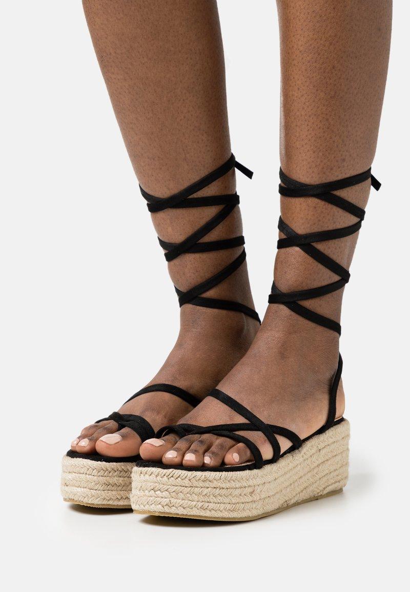 BEBO - LINDSEY - T-bar sandals - black