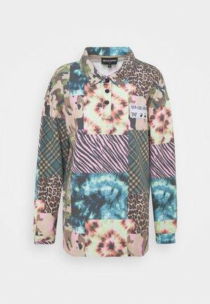 ANIMAL TIE DYE MIXED PRINT - Sweatshirt - multi