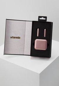 Urbanista - STOCKHOLM TRUE WIRELESS EARPHONES - Headphones - rose gold/pink - 2