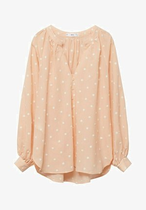 Button-down blouse - pêche