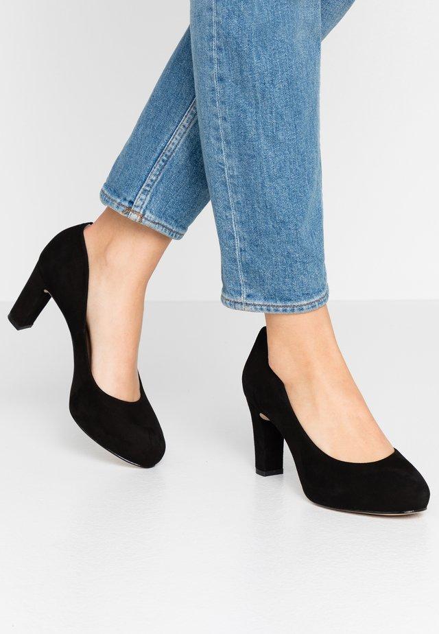 NUMIS - Zapatos de plataforma - black