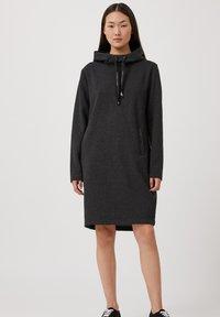 Finn Flare - Day dress - black melange - 1