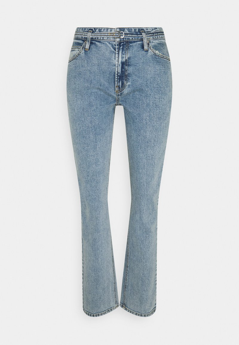 Ivy Copenhagen - FREJA BELT WASH VINTAGE CORNWALL - Relaxed fit jeans - denim blue