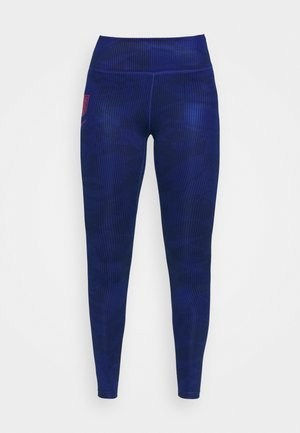 ENGLAND ONE - Leggings - sport royal/challenge red