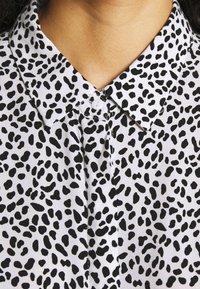 Zign - Shirt dress - white/black - 5