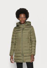 TOM TAILOR DENIM - LIGHT WEIGHT PUFFER COAT - Winter coat - deep olive green - 0