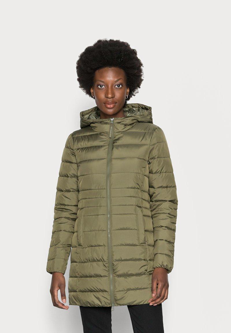 TOM TAILOR DENIM - LIGHT WEIGHT PUFFER COAT - Winter coat - deep olive green